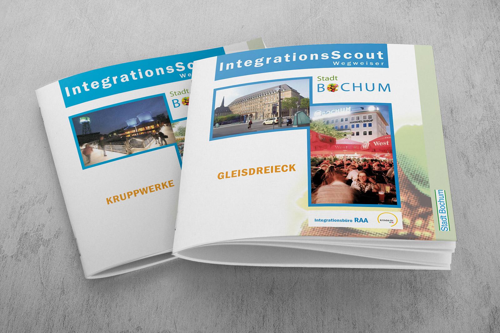 integrationsbüro Broschüren Stadt Bochum