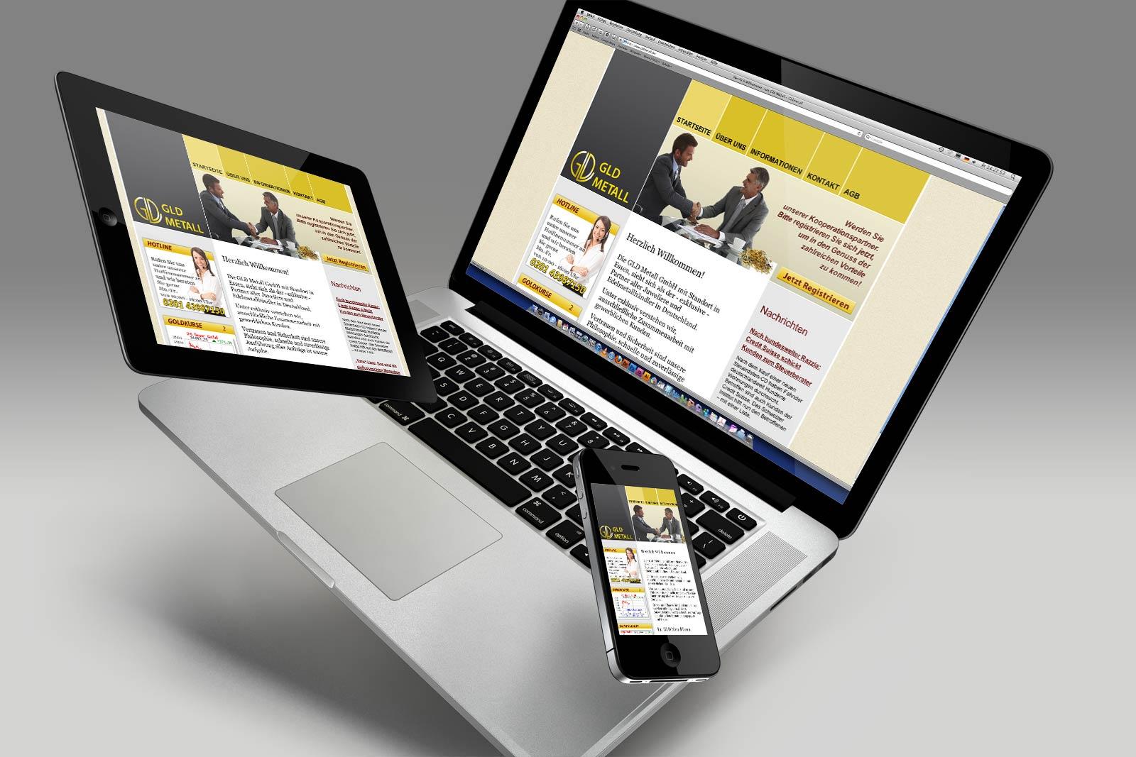 Webseite Design Essen