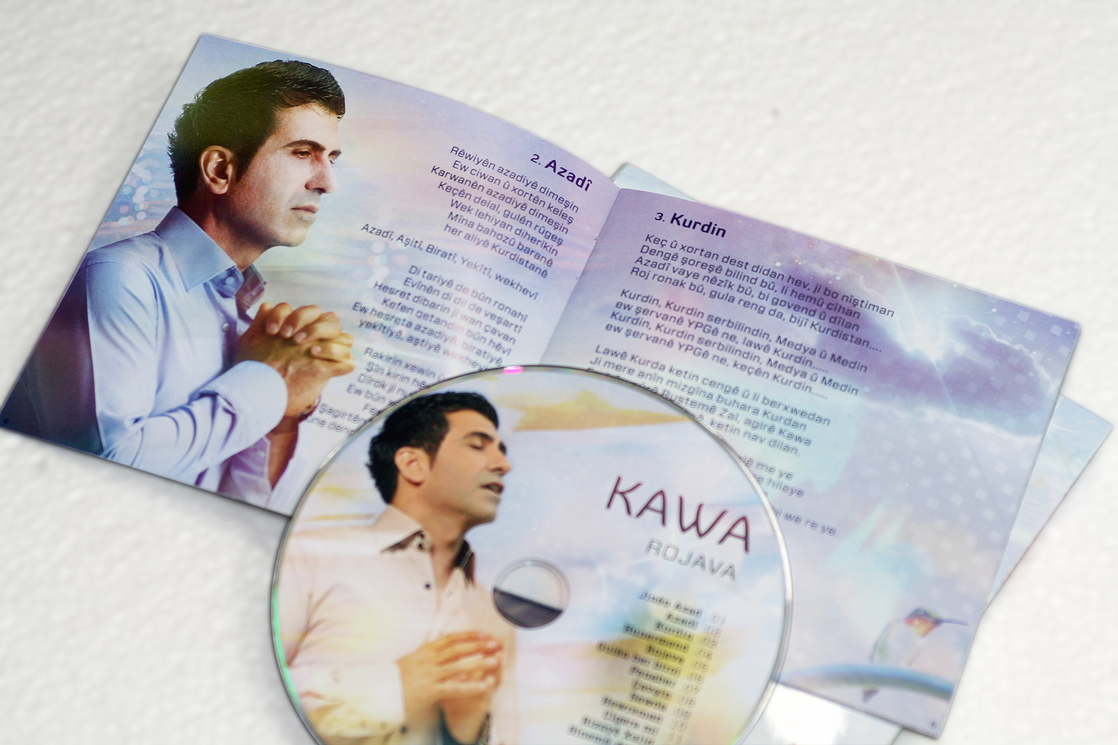 Kawa CD Booklet