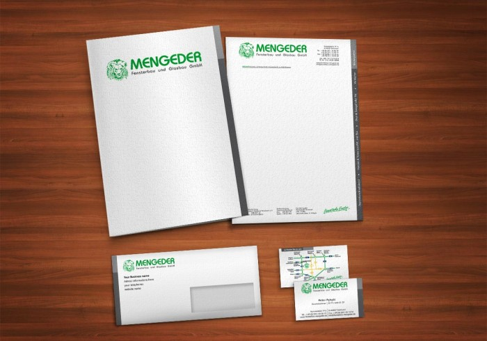 Mengeder Corporate Design