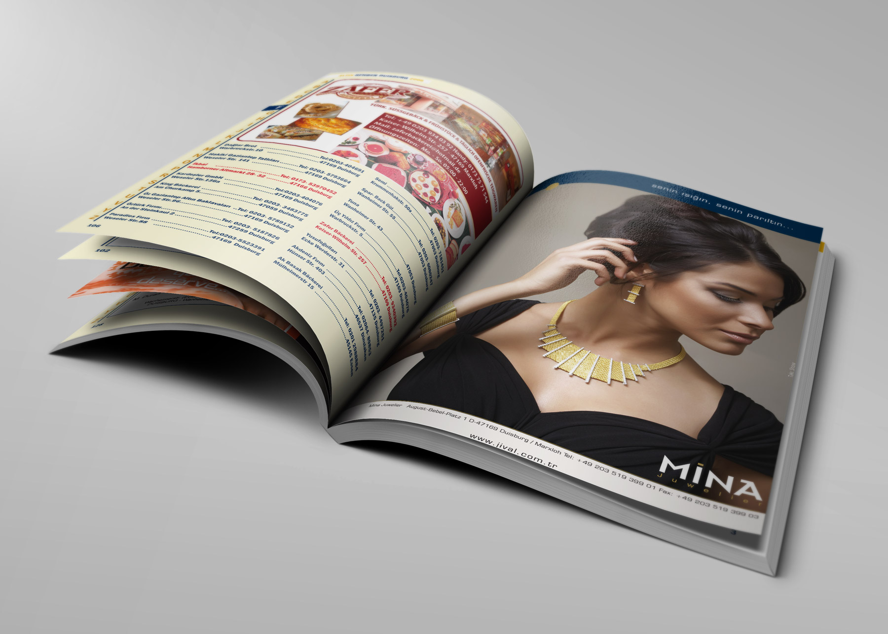 Branchenbuch Design