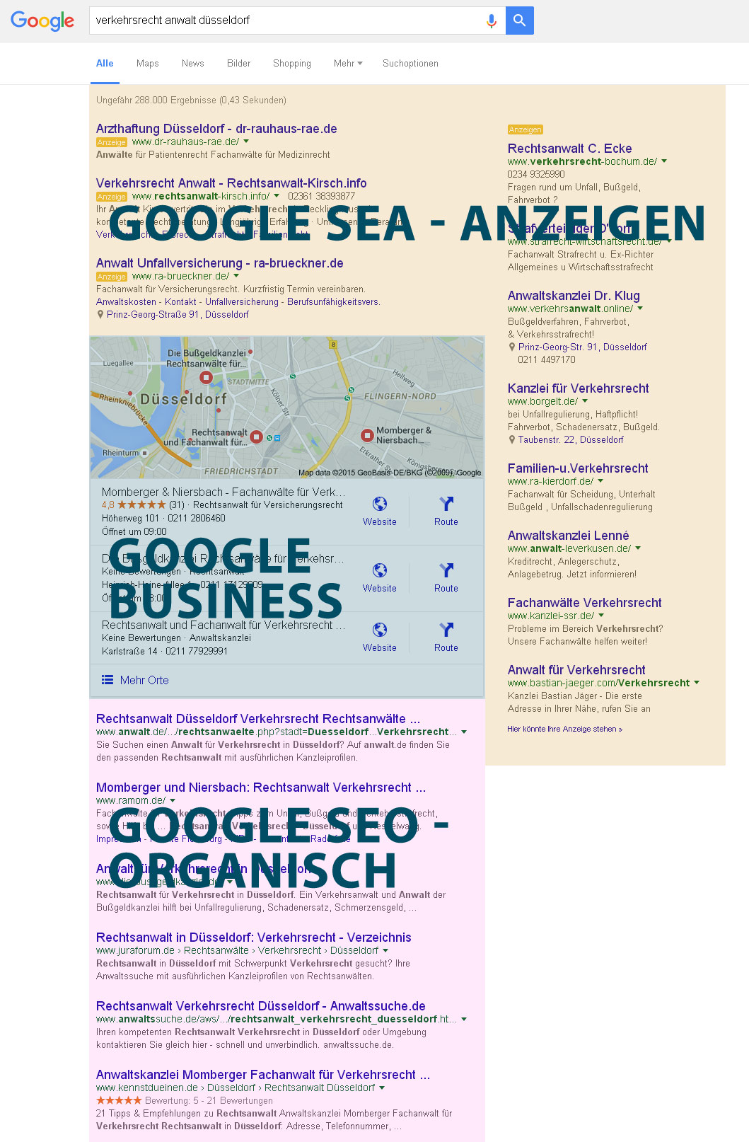 Google SEO SEA Bochum