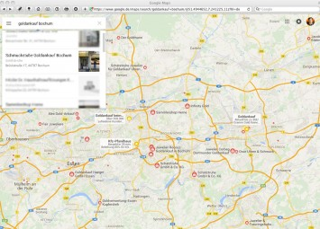 Google Map Bochum