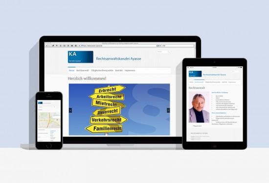 Rechtsanwalt Webseite