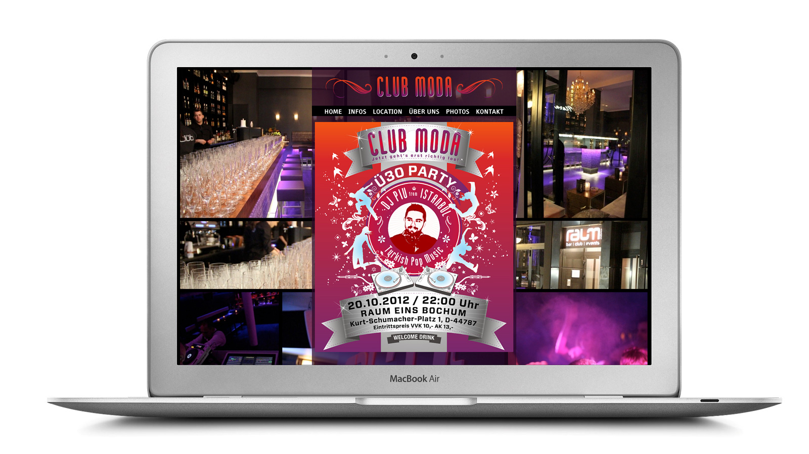 party webseite Bochum